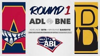 Adelaide Bite @ Brisbane Bandits, Round 1