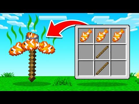 CRAFTING The WEIRDEST PICKAXE In Minecraft!