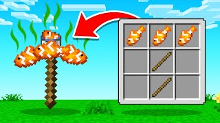 CRAFTING The WEIRDEST PICKAXE In Minecraft!