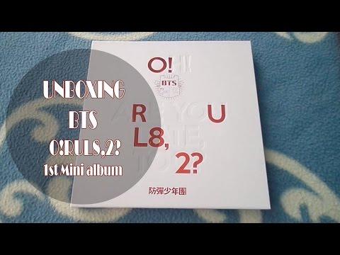 Unboxing / Review BTS (Bangtan Boys) 방탄소년단 O!RUL8,2? 1st Mini Album