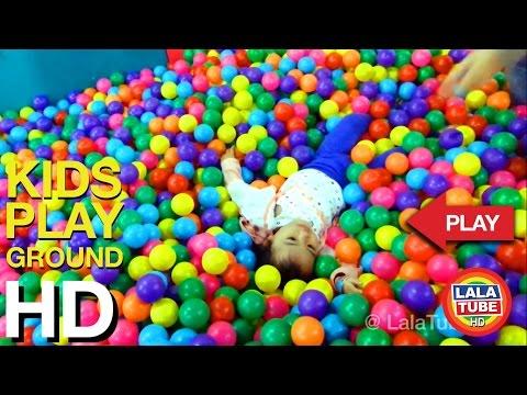 lala main di taman bermain anak - kids playground part 2