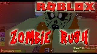 They Wanted My Brains | Zombie Rush | Roblox