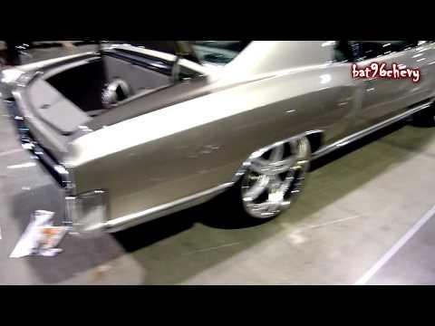 Silver 72 Chevrolet Monte Carlo on 22