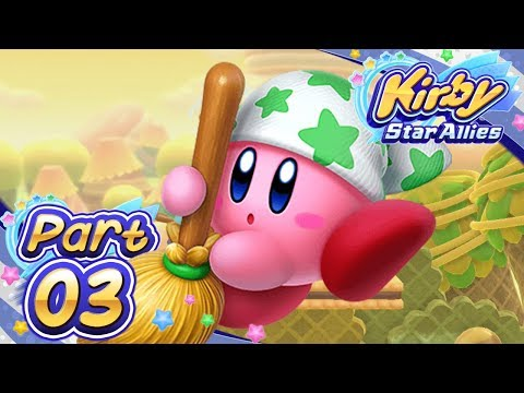 Kirby Star Allies - Part 3 - World of Miracles