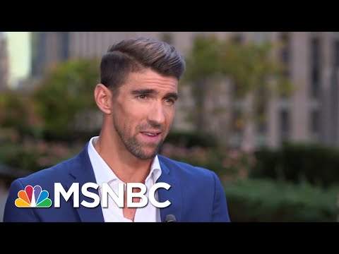 Michael Phelps On Saving Water, Mental Health And Hanging With Lil Wayne At SNL | MSNBC thumbnail