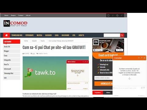 Chat In Timp Real 100% GRATUIT Pentru Site-ul Tau!