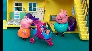 Время, когда РОДИЛАСЬ ПЕППА. Часть вторая. День рождения Свинки Пеппы. Мультик для детей