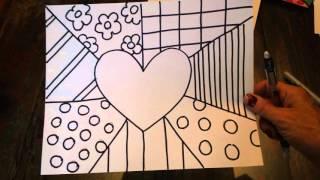Britto Art Lesson 1