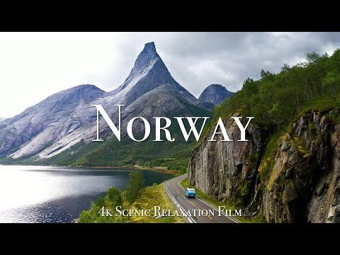 Norway 4K - Scenic Relaxation Film with Calming Music