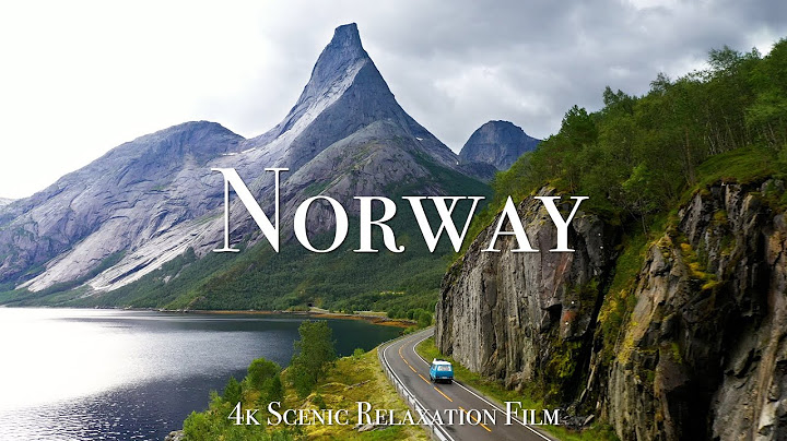 norway 4k  scenic relaxation film with calming music