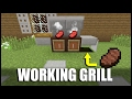 How to Make a Working Grill in Minecraft