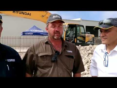 Interview with Hyundai Machinery in Namibia