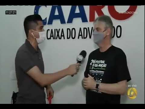 TV Allamanda divulga Festival da Canção da Advocacia Rondoniense