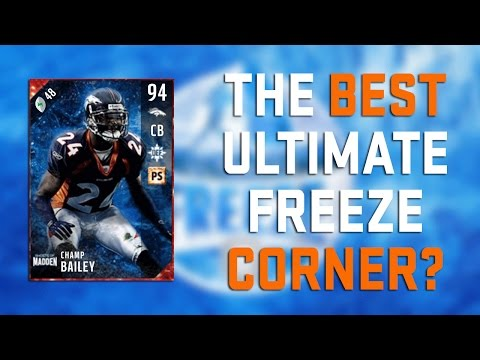 Madden 17 Gameplay Tips   Champ Bailey Review   Ultimate Freeze   MUT Reviews