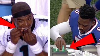 11 Times NFL Players Were Caught Doing the ODDEST Things During a Game