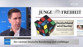 Ein Blick in die neue JF (39/17): Deutschland wird bunter