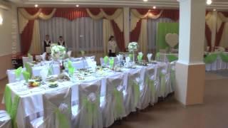 Свадебное оформление зала.