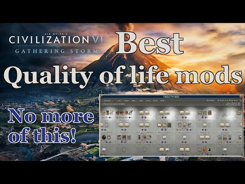 Five Best Quality Of Life Mods For Civ 6