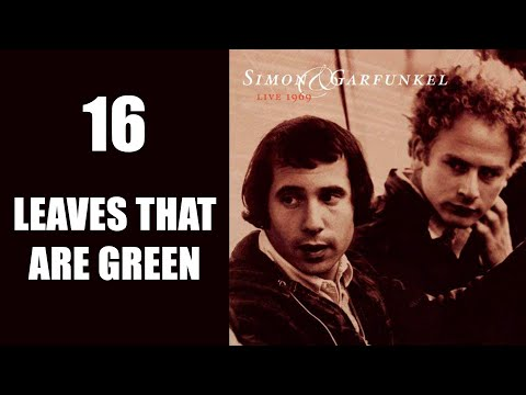 Leaves That Are Green, Live 1969, Simon & Garfunkel