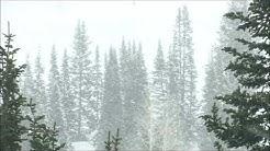 Schneesturm - Entspannung - Natur