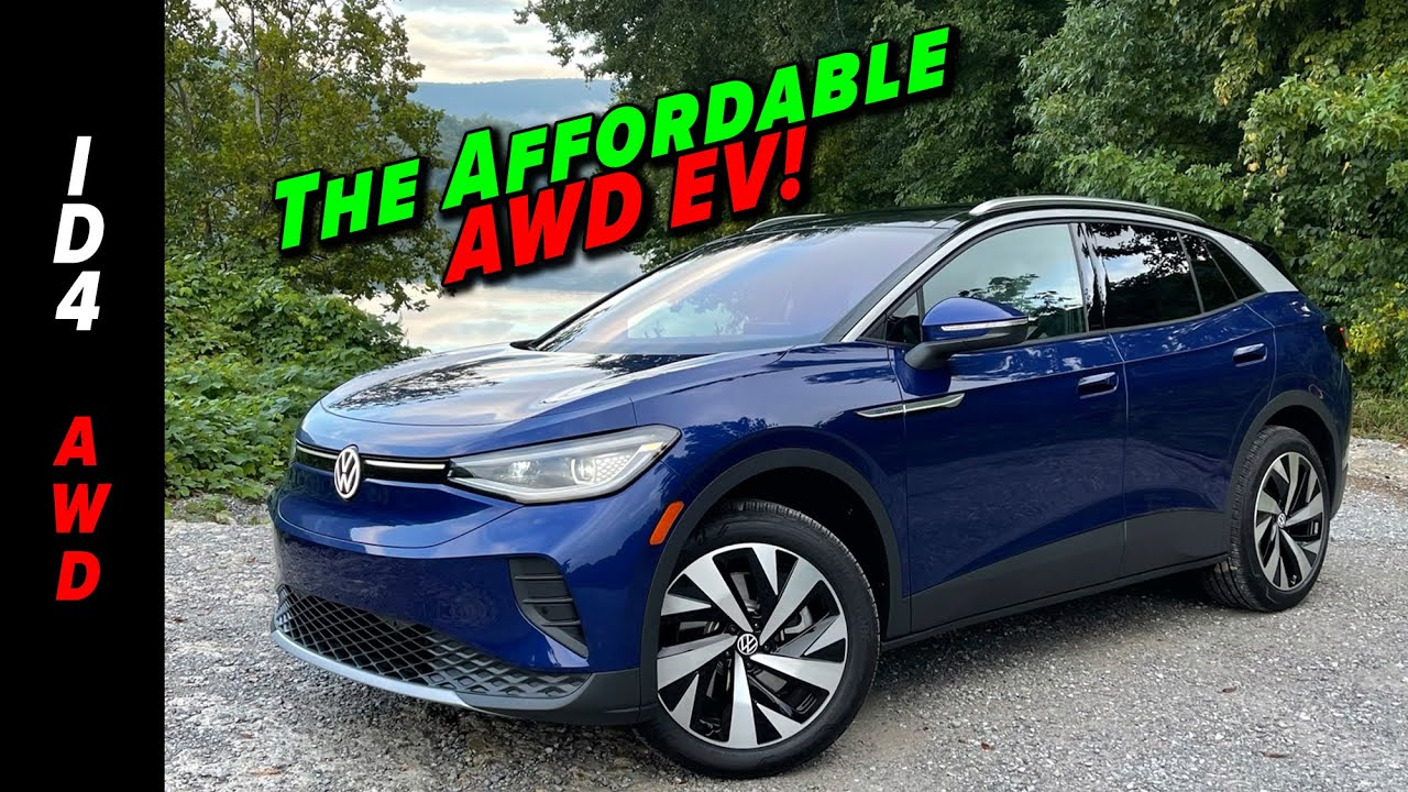 Download The Most Affordable AWD EV Is The New 2022 Volkswagen ID.4 AWD!