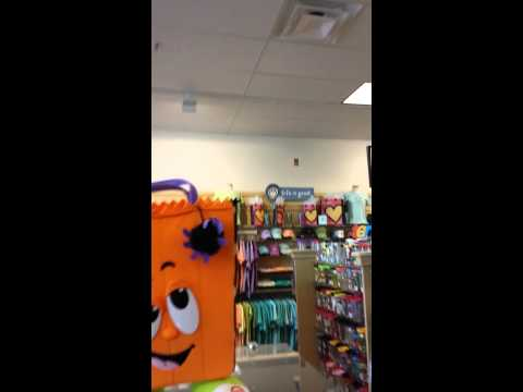 Trick or Treat Bag Dancing At A Hallmark Store In,Jacksonvile Florida
