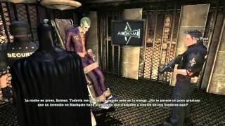 01 Batman Arkham Asylum - Intro - Guason... que boca tan grande tienes...