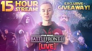 ⚡5 YEAR ANNIVERSARY STREAM - Battlefront 2, Huge Giveaway & More! [PART 2]