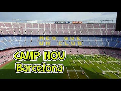 Inside Camp Nou, FC Barcelona stadium tour