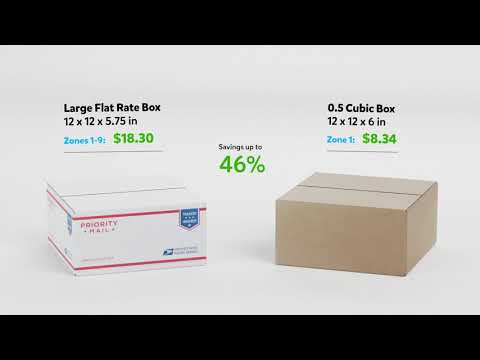 Why You Shouldn't Use Medium Or Large Flat Rate Boxes