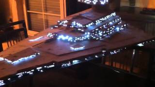 Randy Cooper Star Wars Avenger Star Destroyer with lighting