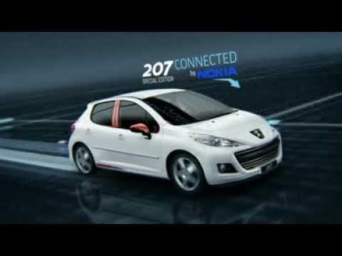 Spot Peugeot 207 Nokia