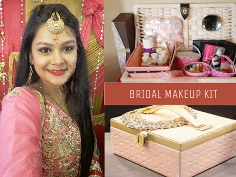 Wedding Makeup Essentials : Bridal Makeup Kit Makeup Essentials for Brides - YouTube