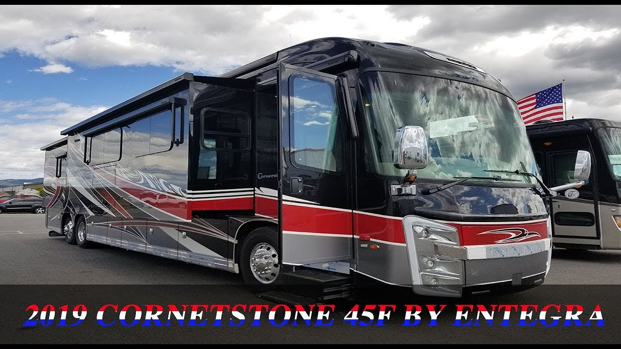 *** SOLD *** NEW 2019 Cornerstone 45F by Entegra FOR SALE! (208)290-5750