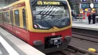 S-Bahn(2)@ベルリン中央駅