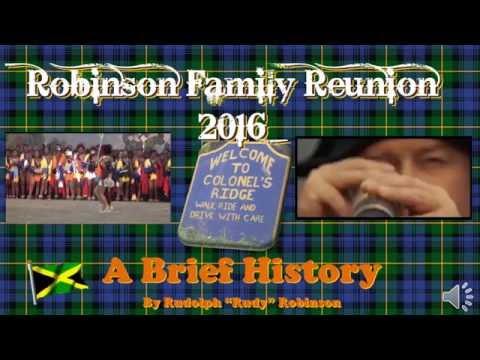 Robinson Family  History 2016