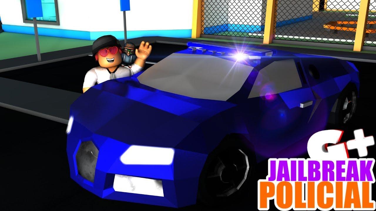 Policial De Bugatti No Jailbreak Prendi Todo Mundo