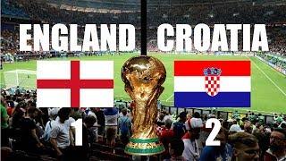 ANGLETERRE CONTRE LA CROATIE EN DIRECT COUPE DU MONDE DE LA RUSSIE DEMI-FINALE 2018