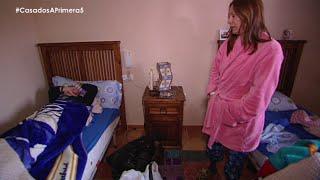 Laurent se muere de frío en casa de Toñi - Casados a primera vista