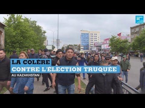 Au Kazakhstan, des manifestations contre l'élection présidentielle