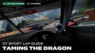 GT Sport Lap Guide: Dragon Trail in Gr2 Daily Race B