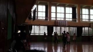 会場:豊見城南高校 2011.6.4 戦い方が全然セクシーじゃないセクシーゴリラーズの試合です.