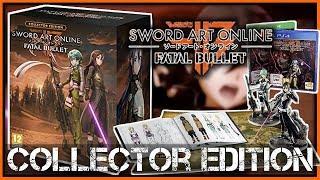 Ouverture d'une Edition Collector Sword Art Online Fatal Bullet FR