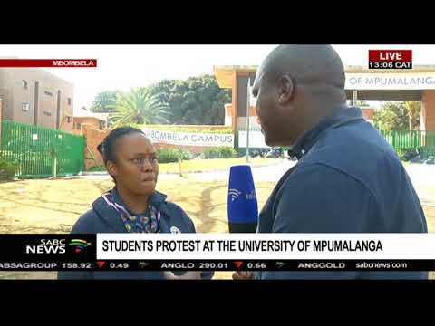 Update on University of Mpumalanga protests: Mweli Masilela
