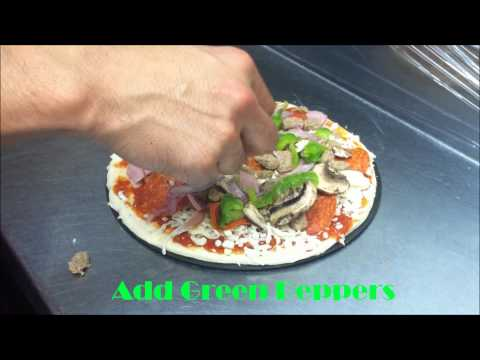 How to make a Supreme Pizza without black olives