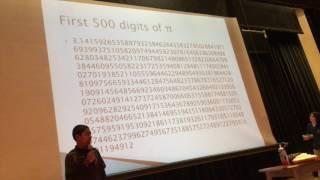 Dylan destroys Pi day - 500 digits!