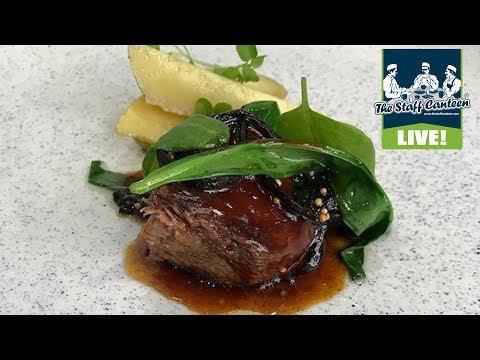 Michelin star chefs Mark & Shauna Froydenlund cook a salt baked lamb recipe