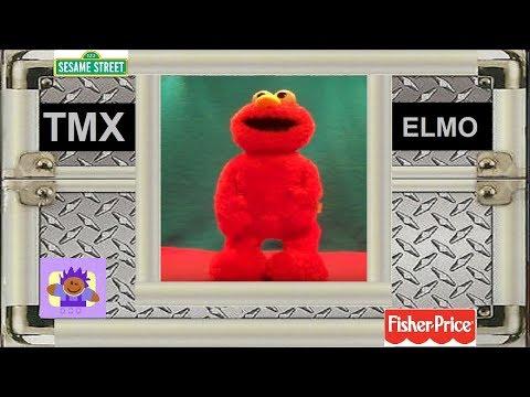 2005 Sesame Street Extreme Tickle Me TMX Elmo By Fisher Price