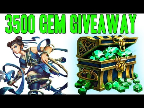 3500 GEM GIVEAWAY! NE ZHA RNG CRITS ARE INSANE