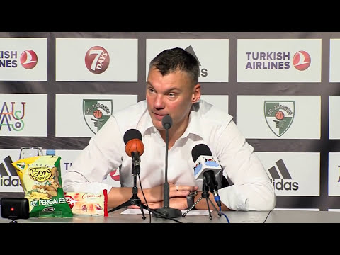 EuroLeague: Žalgiris – Crvena Zvezda press conference